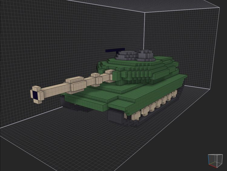 TANK FRONT PERSPECTIVE