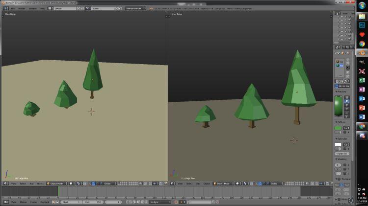 Medium Pine